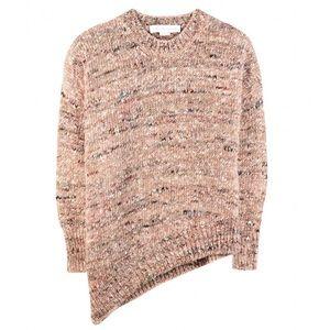 Stella McCartney Asymmetrical Melange Sweater